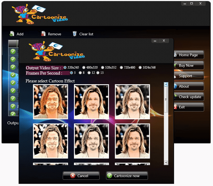 Video Cartoonizer Software