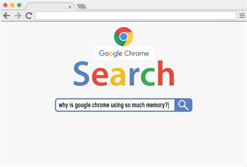why is google chrome using so much memory